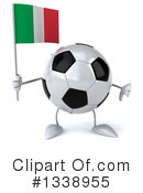 Soccer Ball Character Clipart #1338955 by Julos