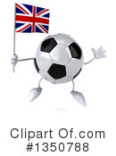 Soccer Ball Character Clipart #1350788