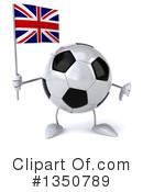 Soccer Ball Character Clipart #1350789