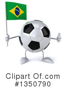 Soccer Ball Character Clipart #1350790 by Julos