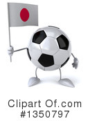 Soccer Ball Character Clipart #1350797 by Julos