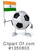 Soccer Ball Character Clipart #1350803 by Julos