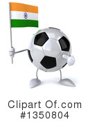 Soccer Ball Character Clipart #1350804 by Julos