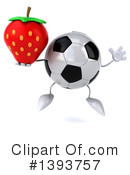 Soccer Ball Character Clipart #1393757 by Julos