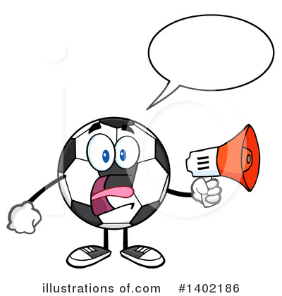Megaphone Clipart #1402186 by Hit Toon