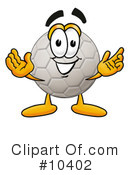 Royalty-Free (RF) soccer ball Clipart Illustration #10402