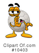 Soccer Ball Clipart #10403 by Toons4Biz