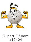 Soccer Ball Clipart #10404 by Toons4Biz