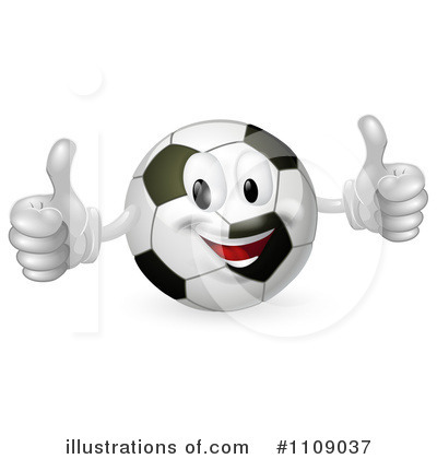 Royalty free rf soccer ball clipart illustration 1109037 by geo