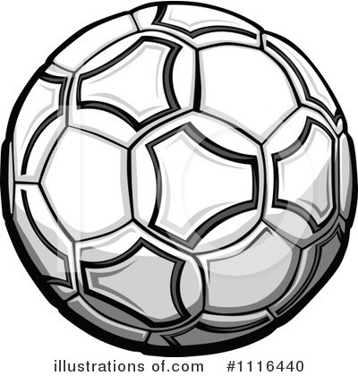 Royalty free rf soccer ball clipart illustration by chromaco stock