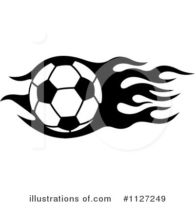 Soccer Clipart #1127249 by Vector Tradition SM