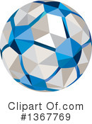 Soccer Ball Clipart #1367769 by patrimonio