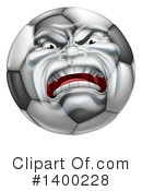 Soccer Ball Clipart #1400228 by AtStockIllustration