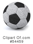 Soccer Ball Clipart #54459 by Julos