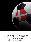Royalty-Free (RF) Soccer Clipart Illustration #100537