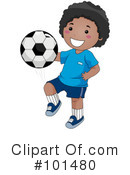 Royalty-Free (RF) Soccer Clipart Illustration #101480