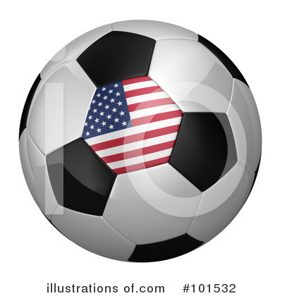 American Flag Clipart #101532 by stockillustrations