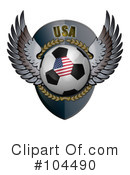 Soccer Clipart #104490 by stockillustrations