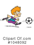 Soccer Clipart #1048092 by toonaday
