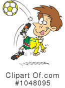 Soccer Clipart #1048095 by toonaday