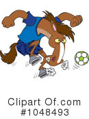 Royalty-Free (RF) Soccer Clipart Illustration #1048493