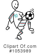 Soccer Clipart #1053989 by Frog974