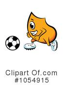 Royalty-Free (RF) soccer Clipart Illustration #1054915