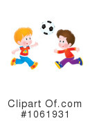 Soccer Clipart #1061931 by Alex Bannykh