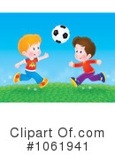 Soccer Clipart #1061941 by Alex Bannykh