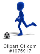 Soccer Clipart #1075917 by Ralf61