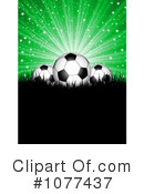 Royalty-Free (RF) Soccer Clipart Illustration #1077437