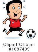 Royalty-Free (RF) Soccer Clipart Illustration #1087409