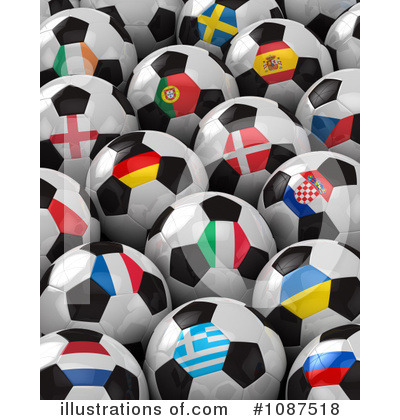 Soccer Clipart #1087518 by stockillustrations
