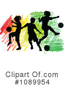 Royalty-Free (RF) soccer Clipart Illustration #1089954