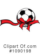 Royalty-Free (RF) Soccer Clipart Illustration #1090198