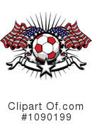 Royalty-Free (RF) Soccer Clipart Illustration #1090199