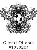 Royalty-Free (RF) Soccer Clipart Illustration #1090201
