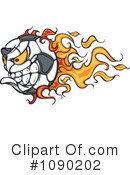 Royalty-Free (RF) Soccer Clipart Illustration #1090202