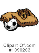 Royalty-Free (RF) Soccer Clipart Illustration #1090203
