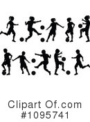 Soccer Clipart #1095741 by Chromaco