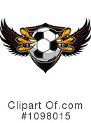 Royalty-Free (RF) Soccer Clipart Illustration #1098015