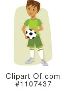 Soccer Clipart #1107437 by Amanda Kate