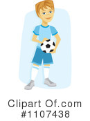 Soccer Clipart #1107438 by Amanda Kate