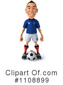 Royalty-Free (RF) soccer Clipart Illustration #1108899