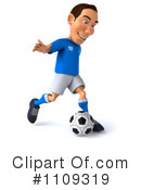 Soccer Clipart #1109319 by Julos