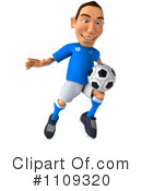 Soccer Clipart #1109320 by Julos