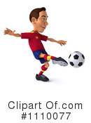 Soccer Clipart #1110077 by Julos