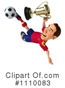 Soccer Clipart #1110083 by Julos