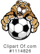 Royalty-Free (RF) soccer Clipart Illustration #1114826