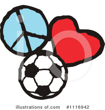 Soccer Clipart #1116942 by Johnny Sajem